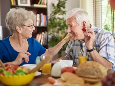 Dieta saludable para los mayores